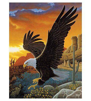 Eagle 3D Lenticular Poster - -12 x16 Print