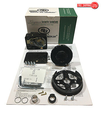 Sg - Sargent And Greenleaf 8550-100 Mechanical Combination Dial Lock Kit -nib