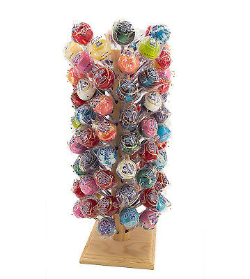 Lollipop and Cake Pop Stand Display 96 hole Holder Solid Wood (Cake Pop Holders)