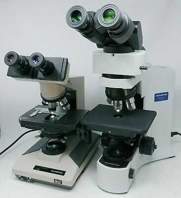Olympus Microscopes Mohs Lab Package Bx41 Led With U-trus Camera Port And Bh2