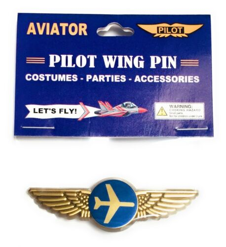 5 Airlines Pilot Pins Gold Wings