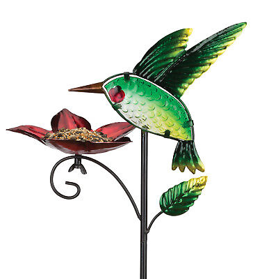 Bird Feeder Stake - Hummingbird - REGAL ART & GIFT 11974