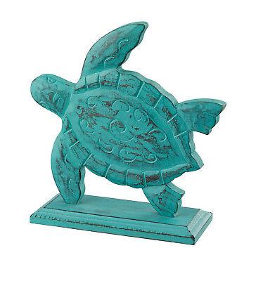 Regal Art Carved Turtle Decor Wood