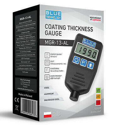 Paint Coating Thickness Gauge For Cars Mgr-13-al From Produzent Made In Eu