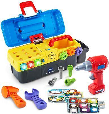 VTech Drill & Learn Toolbox Educational Toys For Boys Toddler Kids Girl