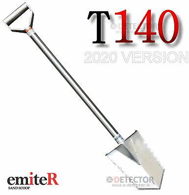PALA BADILE EMITER DENTATO ACCIAIO INOX304 USO METAL DETCTOR,GIARDINAGGIO,HOBBY