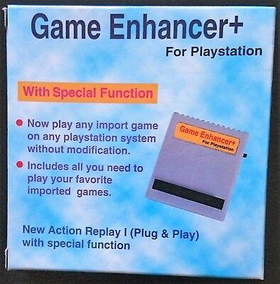 PSone Game Enhancer + (Action Replay) - PARA PS1