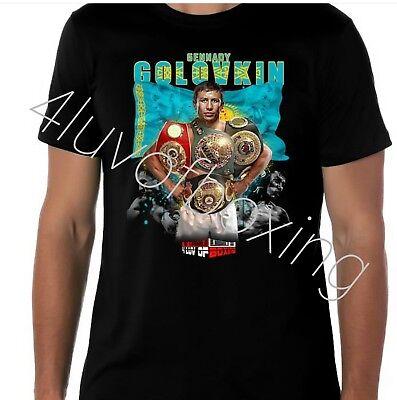 Gennady Golovkin Boxing T Shirt Apparel Ggg 4Luvofboxing New Bk Tee Triple G