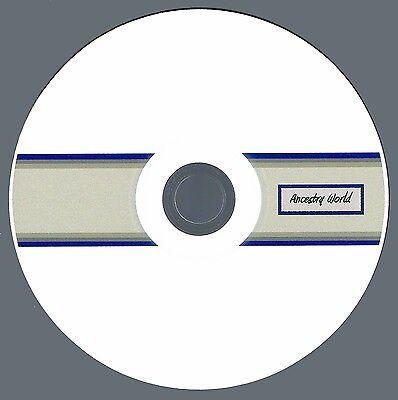 SCOTTISH Genealogy - SCOTLAND Family History - 5 Books on CD!