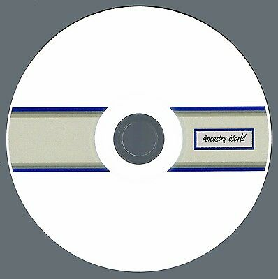 PATTERSON Family History / Genealogy: Collection of 6 Books on CD!