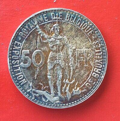 Belgique - Léopold III - Très Jolie 50  Francs 1935 Fr Pos.B - Exposition1935