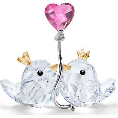 SWAROVSKI LOVE BIRDS PINK HEART 5492226 New 2020 CRYSTAL