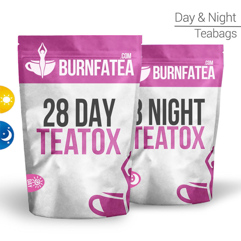 BURNFATEA - 28 DAY TEATOX SET (Herbal Weight Loss, Slimming Detox, Burn Fat Tea)
