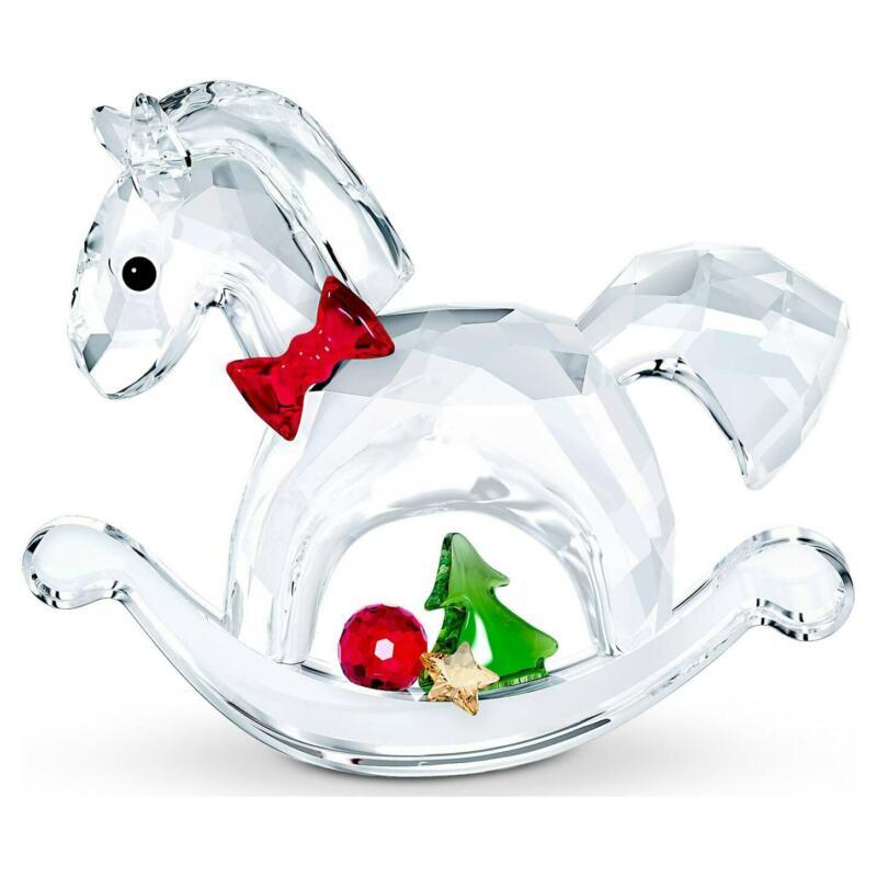 Swarovski Crystal, Rocking Horse - Happy Holidays, 5544529