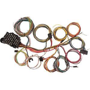 street rod wiring harness ebay rh ebay com Hot Rods Auto Wiring EZ Wiring for Street Rods
