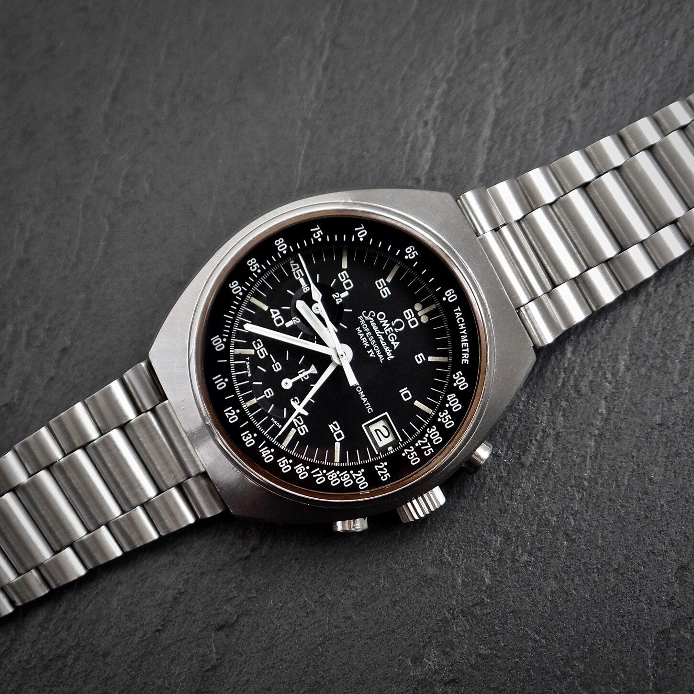 Omega Speedmaster Professional 1040 Mark IV Vintage 1973 Chronograph 22mm Strap - watch picture 1