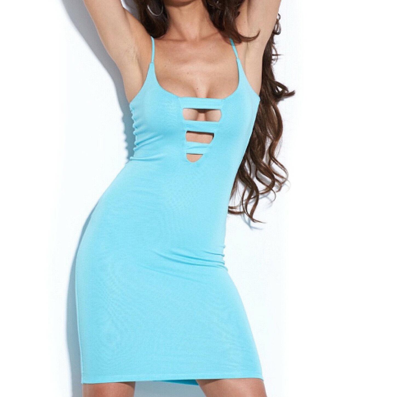 By Alina Damenkleid Partykleid Abendkleid Minikleid Strandkleid 34-38 #B815