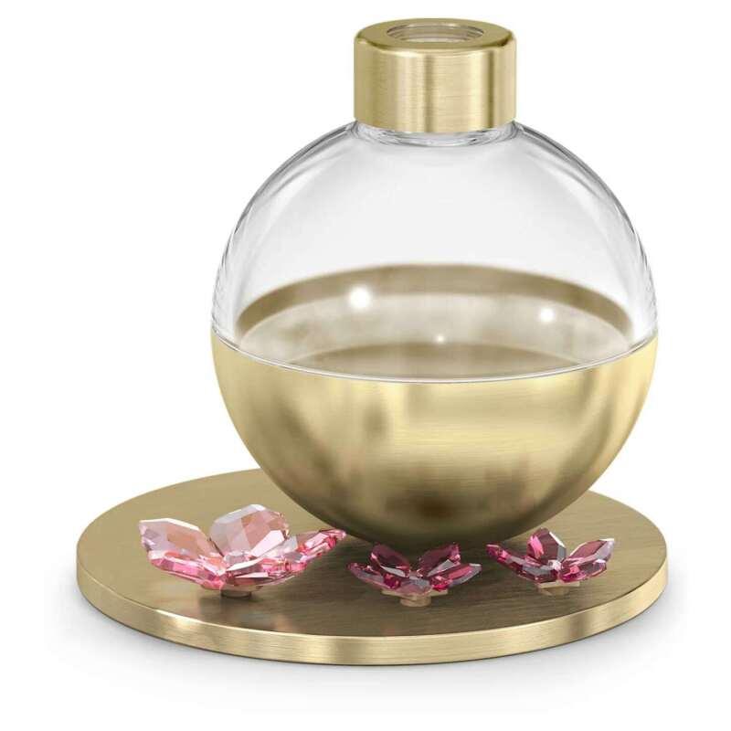 Swarovski Garden Tales Cherry Blossom Scent Diffuser Container Gold Tone 5557809