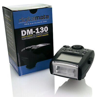 DigitalMate DM-130 TTL Compact Speedlite Flash for Nikon Digital SLR Cameras