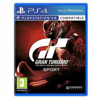 Gran Turismo Sport - PS4 Playstation 4 PSVR Spiel - NEU OVP