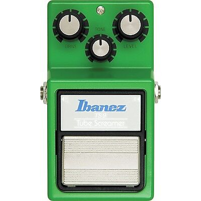 NEW Ibanez TS-9 Tube Screamer Guitar Effects Pedal