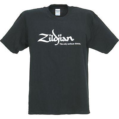 Zildjian Classic Tee T-Shirt Black size Large - NEW item #T3003