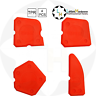 Silicone Sealant Spreader Finishing Tool Kit 4pcs Yato YT-5261