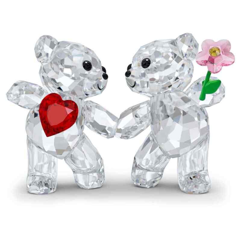 Swarovski Crystal Kris Bear Happy Together Figurine Decoration 5558892