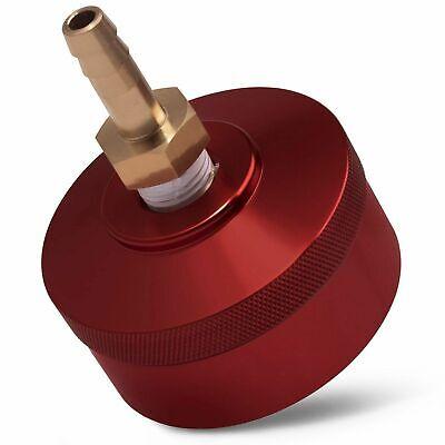 Red Extended Cap With Brass Hose For Honda Generator Eu1000i Eu2000i Eu2200i