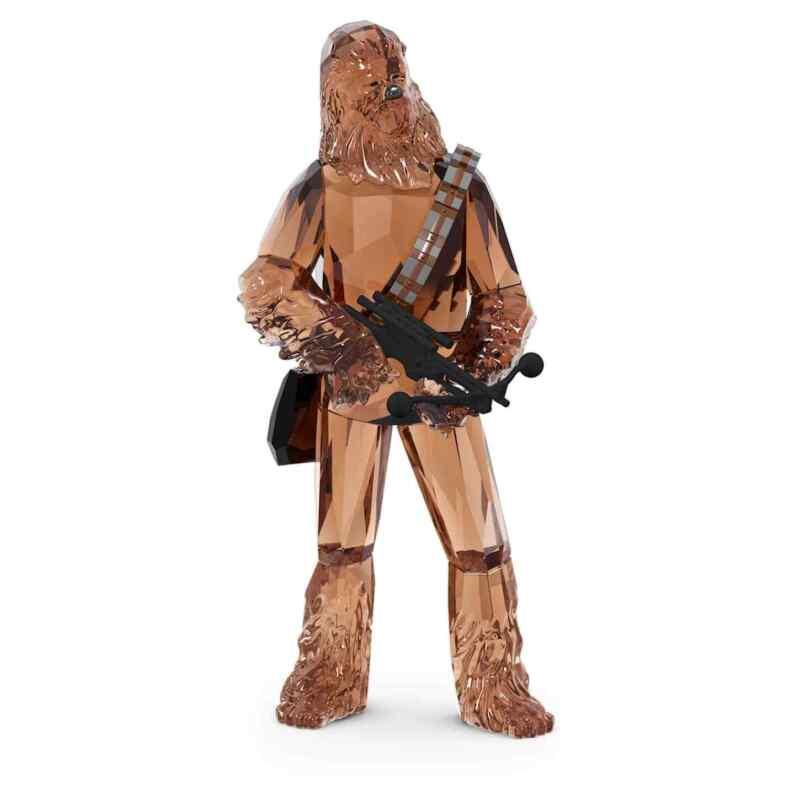 Swarovski Crystal Star Wars Chewbacca Figurine Decoration, Brown, 5597043