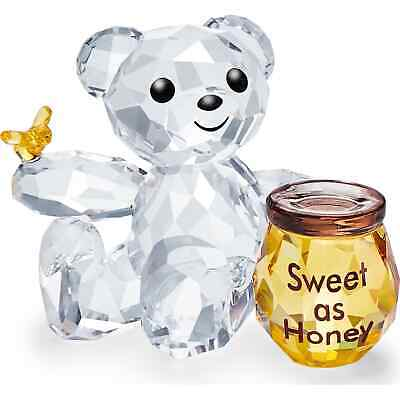 SWAROVSKI KRIS BEAR SWEET AS HONEY CRYSTAL # 5491970 New 2020 Honey Bear Sweet