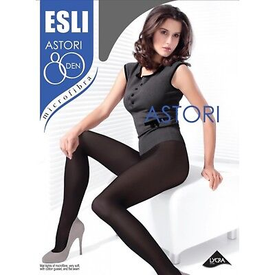 Esli by Conte TIGHTS Astori 80 Den | Microfibre Warm Thick Winter Pantyhose
