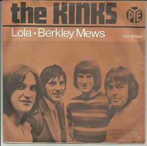 "KINKS LOLA/BERKLEY MEWS HOLLAND 7"" picture sleeve on Pye! BEAT MOD ! - Italia - KINKS LOLA/BERKLEY MEWS HOLLAND 7"" picture sleeve on Pye! BEAT MOD ! - Italia"