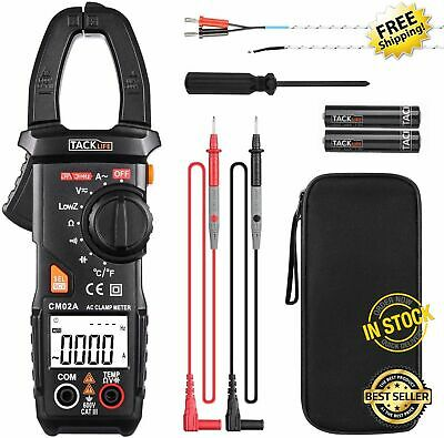 Fluke Tester Dc Voltage True Test Clamp Digital Meter Ac Multimeter Auto Ranging