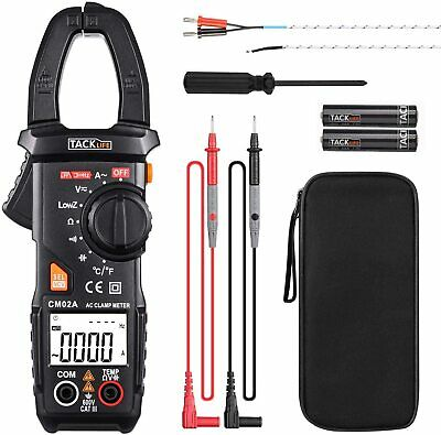 Fluke Tester Dc Voltage Rms Amp True Test Clamp Digital Meter Ac Multimeter New