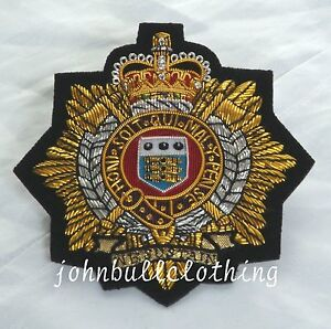 Royal Logistic Corp Bullion Blazer Badge - British Army / Military