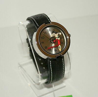 True Vintage Tazuka Astro Boy Anime Mystery Black Dial Watch New 2003 NOS Tags