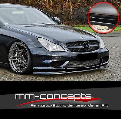CUP Spoilerlippe SCHWARZ Mercedes CLS C19 55 AMG 63 AMG Frontspoiler Schwert