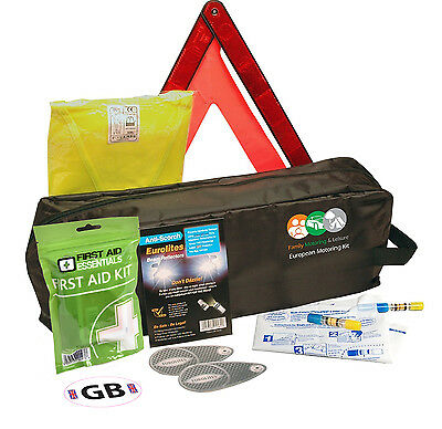 Driving Kit For France With Two NF Approved Breathalysers - In Zipped Bag