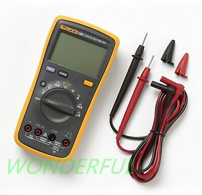 Fluke 15b F15b Digital Multimeter Meter With Tl75 Test Leads