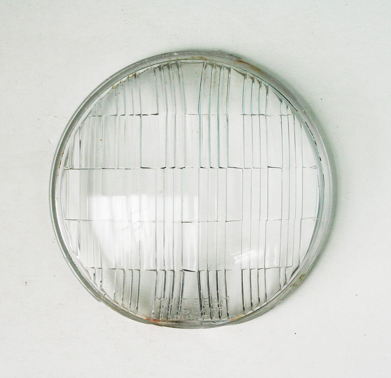 Vintage Automobile Headlight Lens, Multibeam Headlight Guide