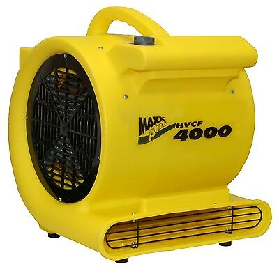 New Ventamatic Maxxair Hvcf 4000 Cfm 1 Hp Carpet Blower Dryer Floor Fan 5091566