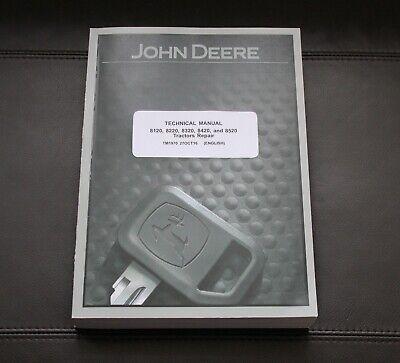 John Deere 8120 8220 8320 8420 8520 Tractor Repair Service Manual Tm1970