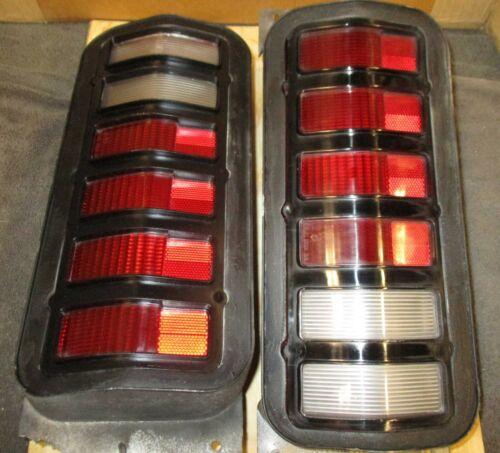 DEMON TAILLIGHTS - SUPERNICE! mopar grille BEZEL grille duster dart DODGE 71 72