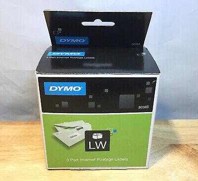 Dymo 30383 Internet Postage Labels Are 3-part Internet Postage Labels