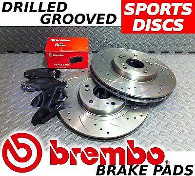 Audi A6 & Avant 2wd 97-05 Perforado & discos de freno trasero acanalados BREMBO
