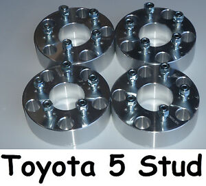 Wheel-Hub-Spacers-5-Stud-Toyota-Landcruiser-100-105-200-205-70-76-78-79-series