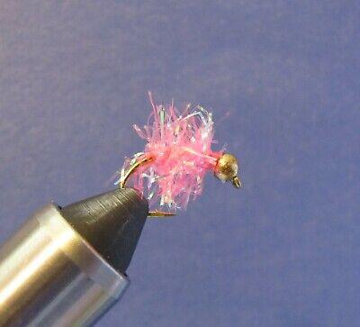 30 #12 BH Micro Estaz Eggs Trout /& Steelhead spawn fly fishing glo egg flies!