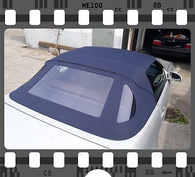 Mercedes SL R129 Verdeck Cabrioverdeck Neu! Sonnenland Plus ! blau TOP QUALITÄT!