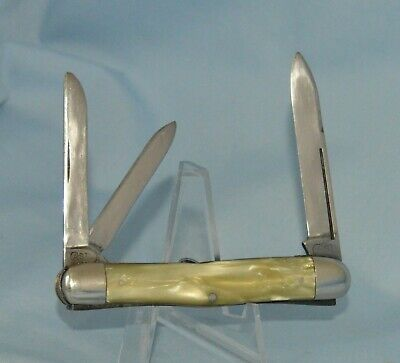 "RARE VINTAGE CASE TESTED CRACKED ICE WHITTLER KNIFE 93109 ""1920-40"" BOOK $1400.0"